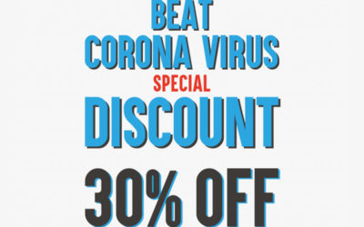 BEAT CORONA VIRUS DISCOUNT 30%OFFを開催いたします!